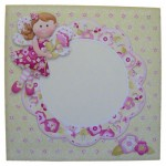 Flower Fairy Shaped Fold Card - envelope front