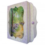 Bluebell Woods 7x7 Bracket Edge Shadow Box Fold Card - view 2