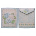 Shabby Chic Hydrangeas Gift Set - seed packet front & back
