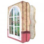 Garden Window 7x7 Shadow Box Fold Card - view 2