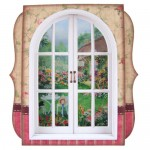 Garden Window 7x7 Shadow Box Fold Card - view 1