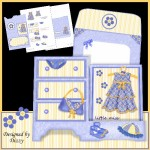 Little Miss Side Stepper Dresser Card