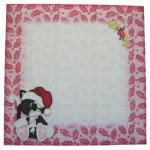 A Purr-fect Christmas Shaped Fold Card - envelope front
