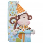 Cheeky Birthday Monkey Shaped Fold Card - view 1