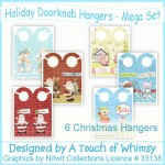 Holiday Doorknob Hangers - Mega Set