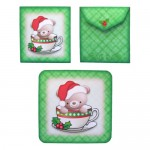 A Christmas Hug in a Mug - FREE teabag wrapper & coaster