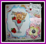 Ice cream Bear card