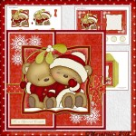 Foldback Card: Mistletoe Kisses