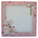 Yappy Christmas Shaped Fold Card - envelope front