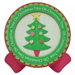 Oh Christmas Tree Plate Card/Plate Easel Duo Kit - plate card
