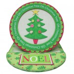 Oh Christmas Tree Plate Card/Plate Easel Duo Kit - plate easel