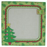 Oh Christmas Tree Plate Card/Plate Easel Duo Kit -envelope front