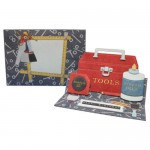 My Tool Kit Over the Top Easel Card - finished set