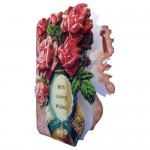 Rose Vase Shaped Fold Card - view 2