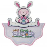 Baby's First Easter Wavy Edged OTT Card - view 1