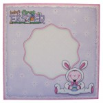 Baby's First Easter Wavy Edged OTT Card - envelope front