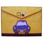 My Car Multi-Use Shaped Easel Card - envelope back