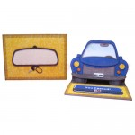 My Car Multi-Use Shaped Easel Card - finished set