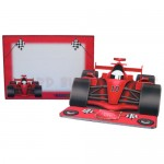 Racing Car Shaped Easel Card - finished set