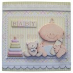 A New Baby Boy Fold Card - view 1
