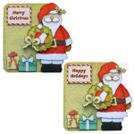 Christmas Greetings Shaped Fold Card - view 1