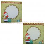 Christmas Greetings Shaped Fold Card - envelope front