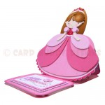 Little Princess Shaped Easel Card - view 2