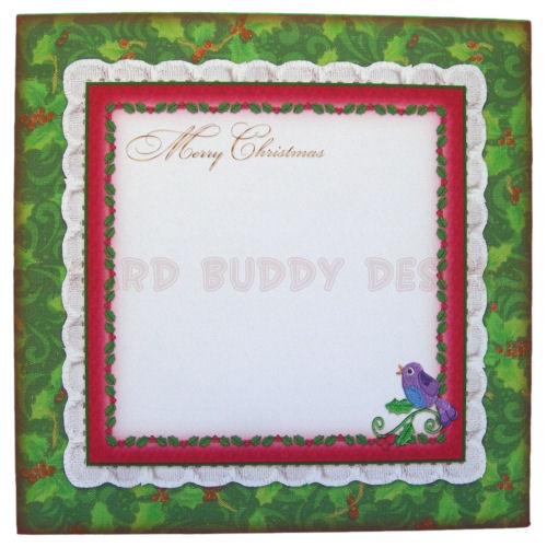 12 Days of Christmas Fold Card - envelope front