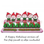 A Merry Little Christmas Over The Top Easel Card - view 1