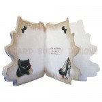 Fashion Accessories Shaped Fold Card - inside view