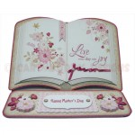 Joyful Days Open Book Easel Card - view 1