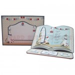 Plain Sailing Open Book Easel Card - finished set