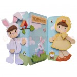 Easter Fun Shaped Tri Fold Card - view 1