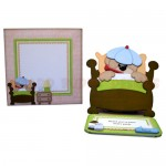 Beary Pawly Shaped Easel Card - finished set