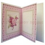 BeYOUtiful Pink Flowers Duo Card Front & Insert - insert