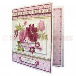 BeYOUtiful Pink Flowers Duo Card Front & Insert - version 2 - 2