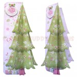 By The Tree 3D Shaped Fold Card - front & side views