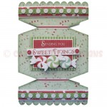 Sweet Tidings Cracker Shaped Fold Card - view 1