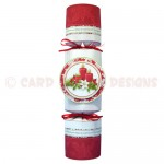 Christmas Candles Place Setting Set - cracker