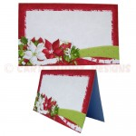 Christmas Candles Place Setting Set - place card