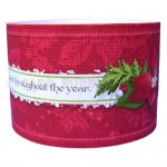 Christmas Candles Place Setting Set - napkin ring