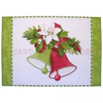 Christmas Bells Place Setting Set - place mat