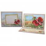 Poppy Meadow Easel Card - finished set