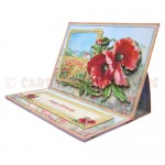 Poppy Meadow Easel Card - view 2