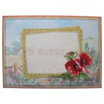 Poppy Meadow Easel Card - envelope front