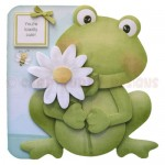 Toadily Cute Shaped Fold Card - view 1