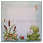 Toadily Cute Shaped Fold Card - envelope front