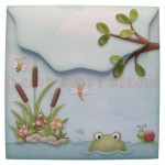 Toadily Cute Shaped Fold Card - envelope back