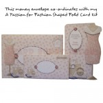 A Passion for Fashion Money Envelope - co-ordinating set