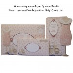 A Passion for Fashion Shaped Fold Card - finished set